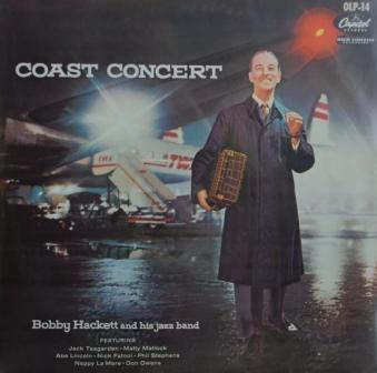 Coast Concert Record Jacket with Bobby Hackett